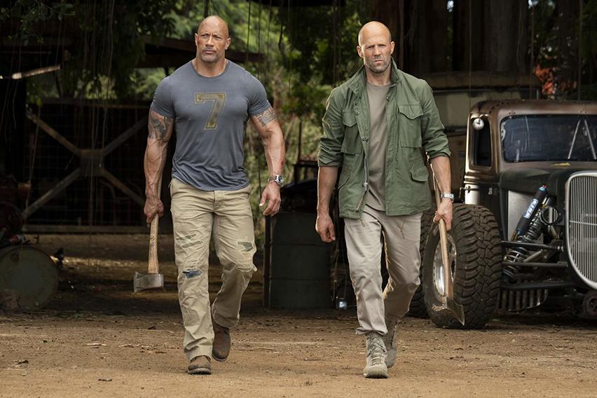 Fast & Furious – Hobbs & Shaw [4K Ultra HD Blu-ray + Blu-ray]