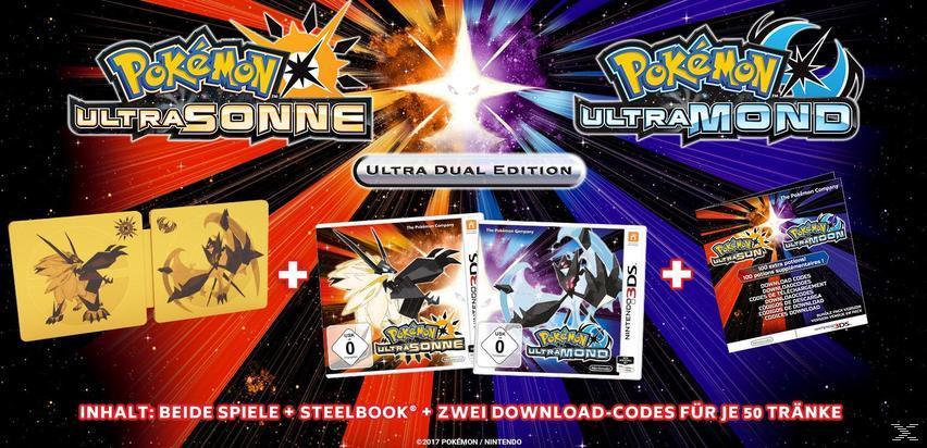 Pokemon Ultrasonne & Ultramond - Ultra Dual Edition [Nintendo 3DS]