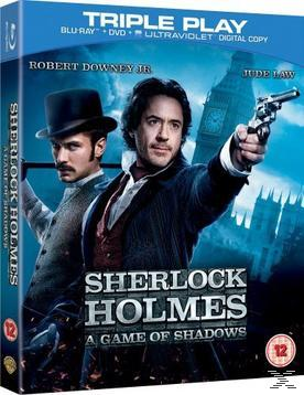 SHERLOCK HOLMES: A GAME OF SHADOWS(BR+DV