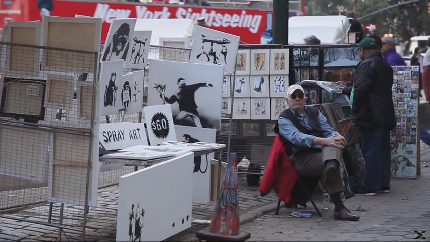 Banksy Does New York - (DVD)