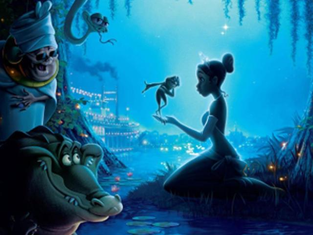 De Prinses en de Kikker DVD