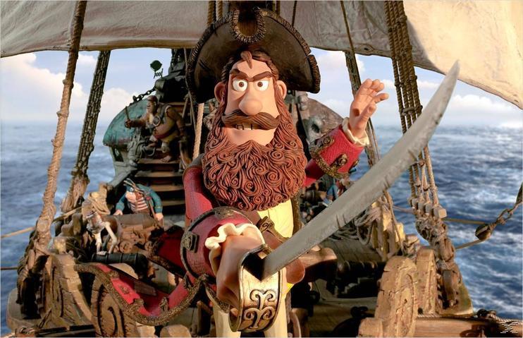 Die Piraten - Ein Haufen merkwürdiger Typen - (3D Blu-ray)