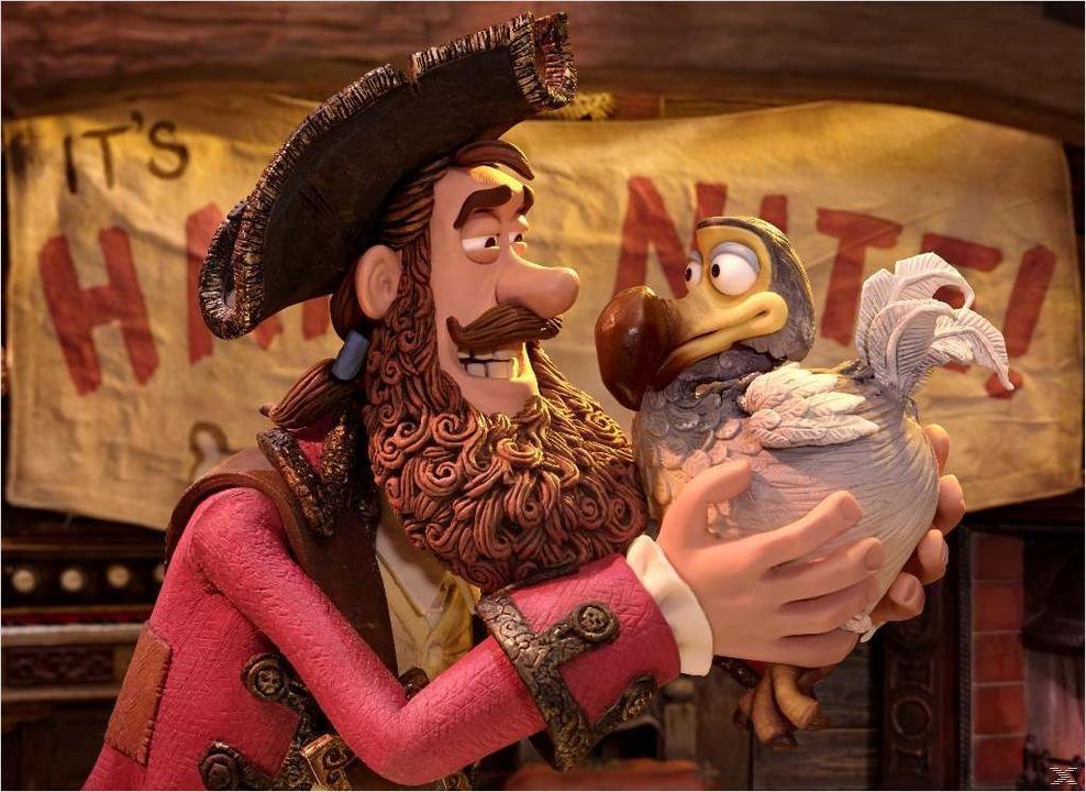 Die Piraten - Ein Haufen merkwürdiger Typen Abenteuer DVD