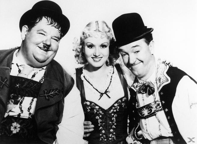 Laurel & Hardy - Die Salontiroler [DVD]