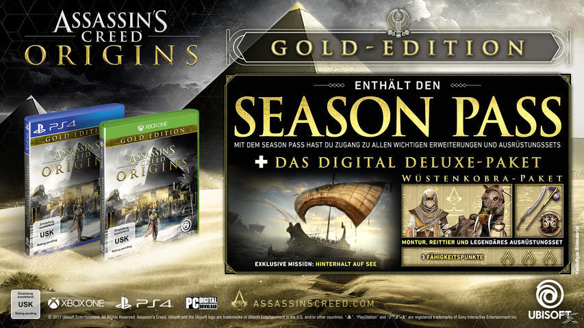 Assassins Creed - Origins (Gold Edition) - Xbox One