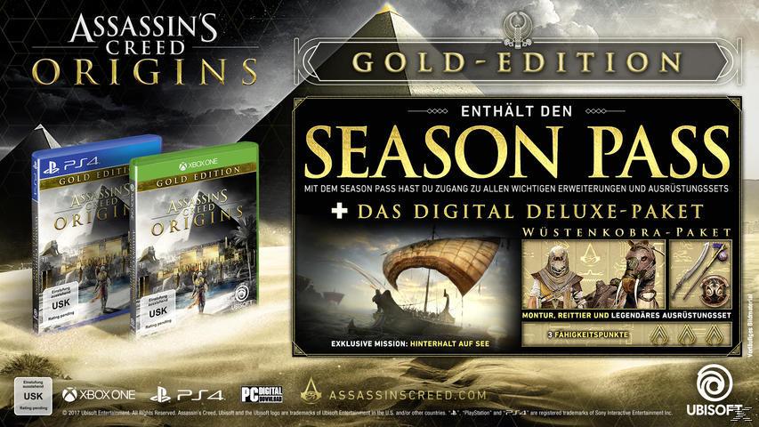 Assassins Creed - Origins (Gold Edition) [PlayStation 4]