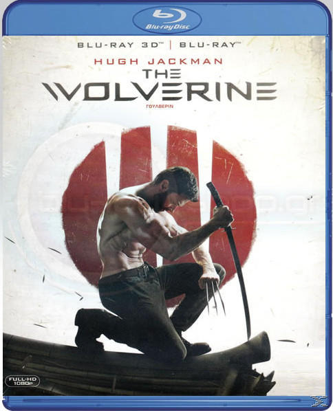 THE WOLVERINE 3D [&2D BLU RAY]
