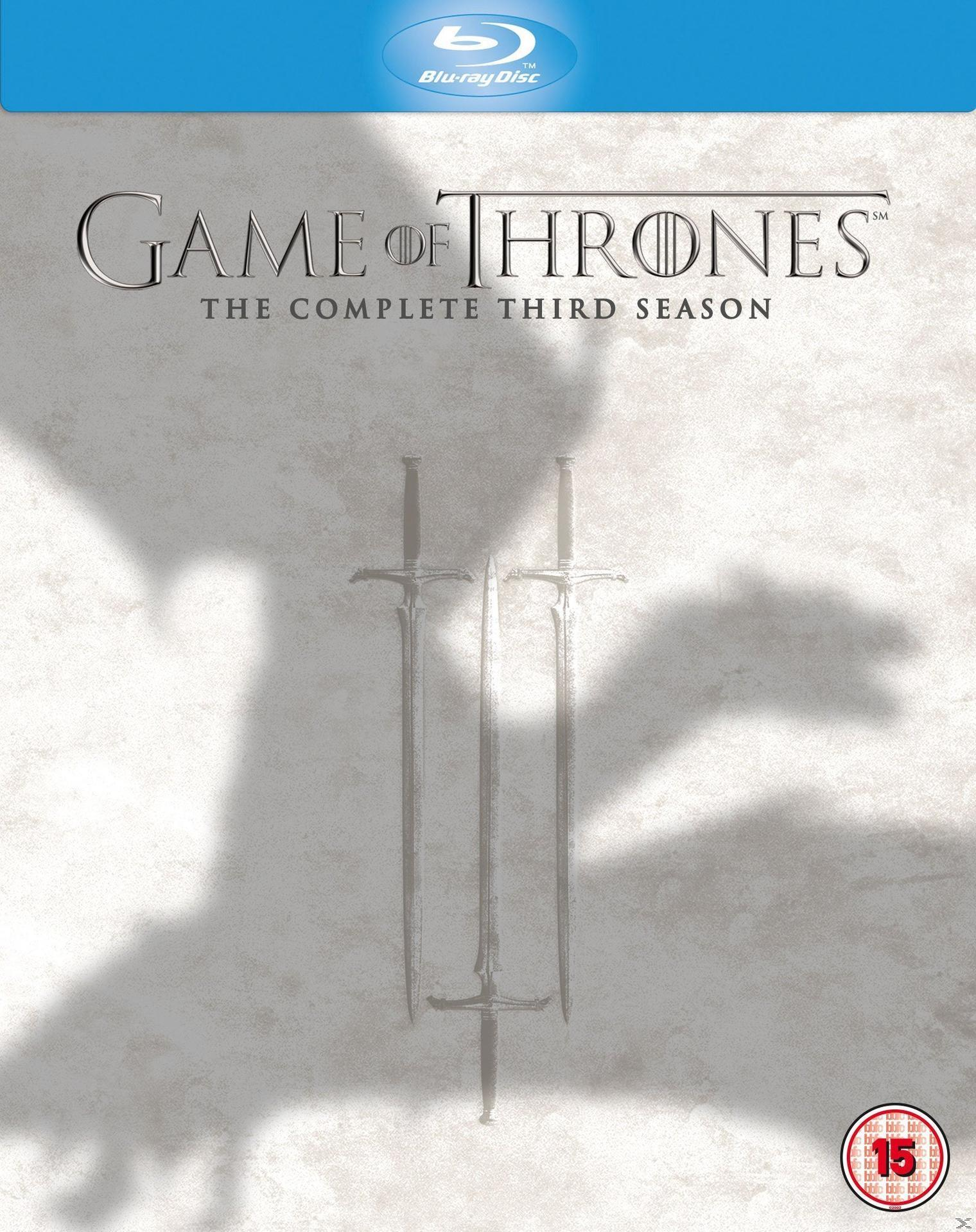GAME OF THRONES SEASON 3 [BLU RAY]