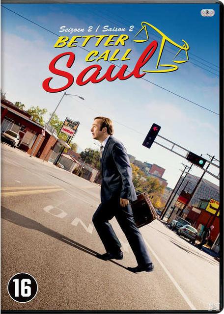 BETTER CALL SAUL  SEASON 2 (DVD)
