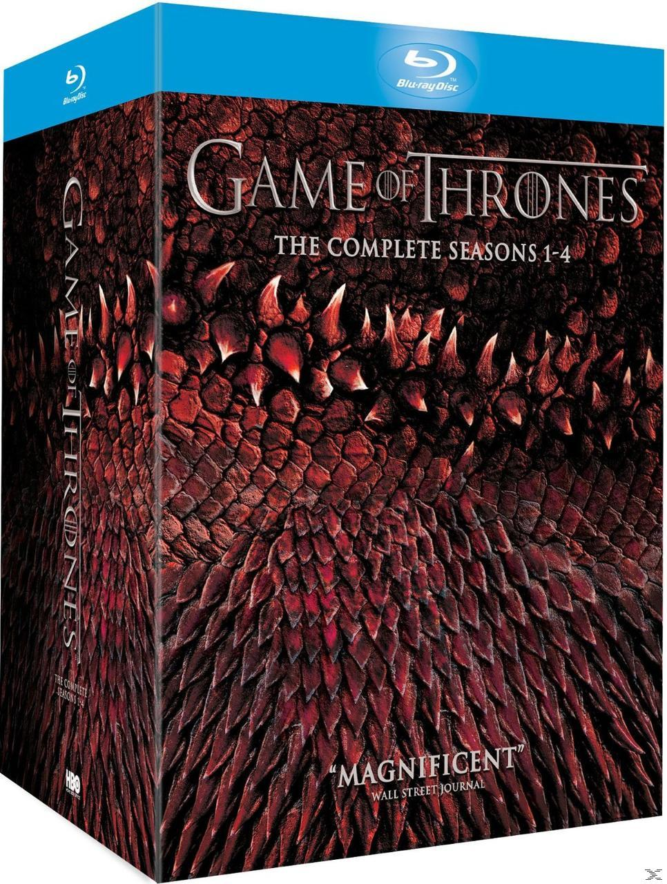 GAME OF THRONES S 1-4 [BLU RAY]