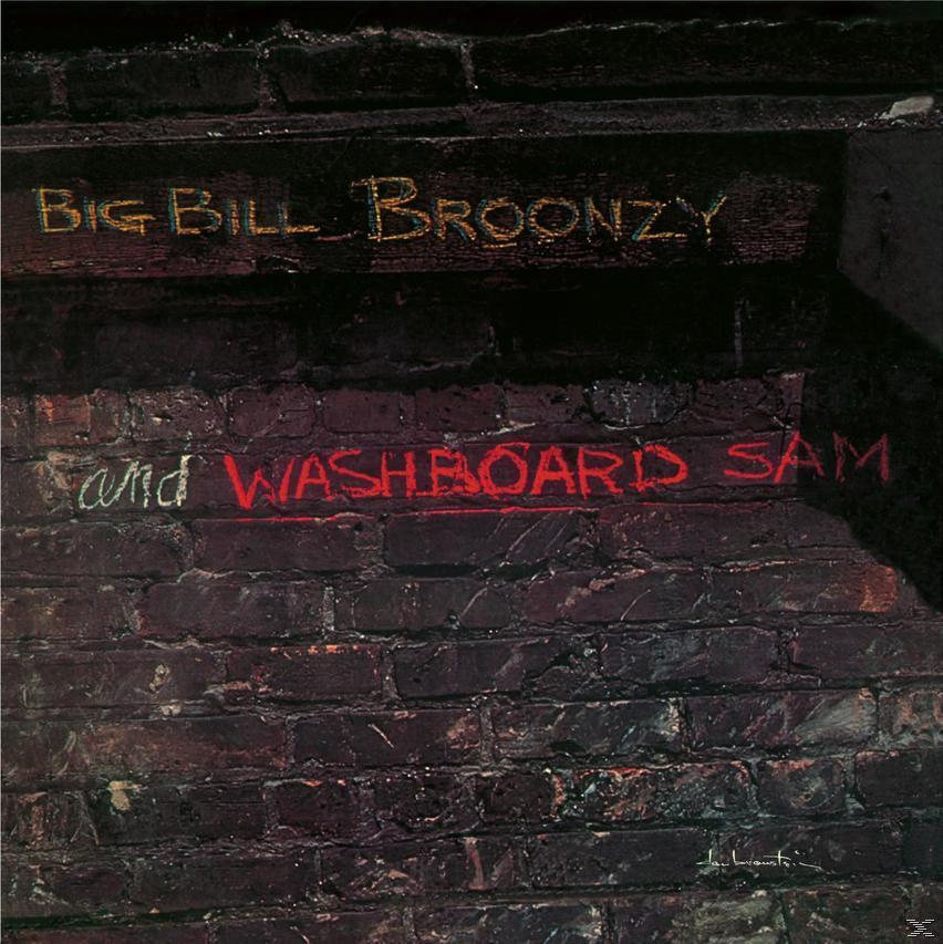 BIG BILL BROONZY & WASHBOARD SAM (LP)