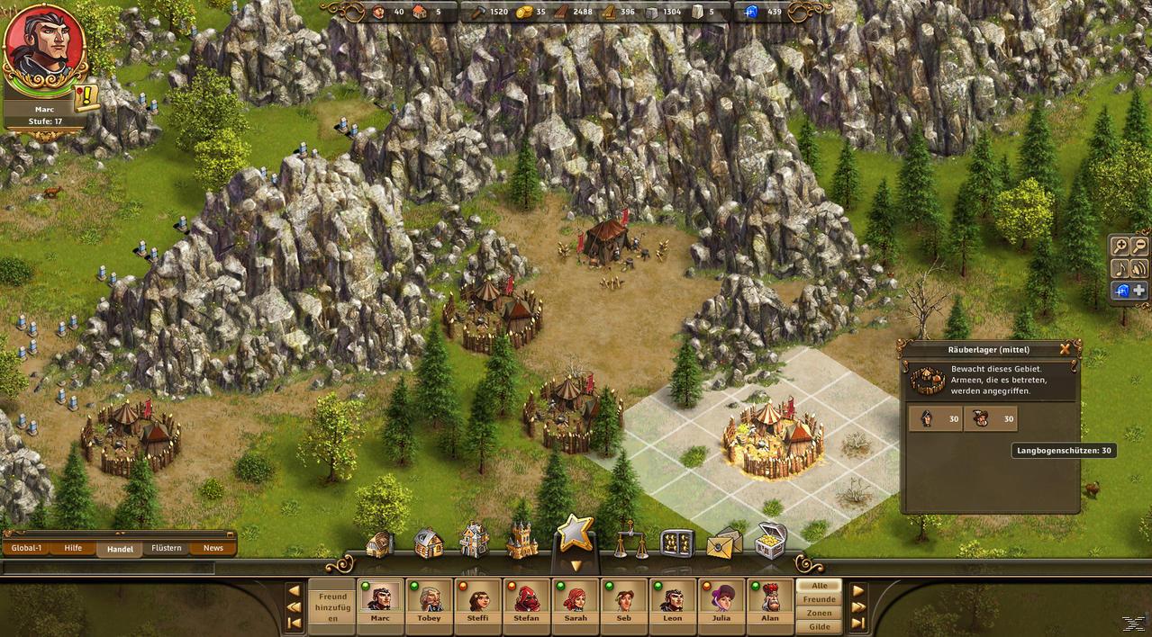 online aufbaustrategie spiele