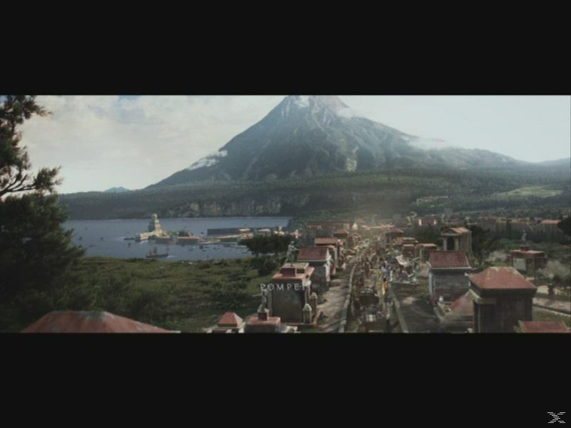 Φωτιά Πάνω από την Πομπηία 3D BD&2D BD, Blu-ray