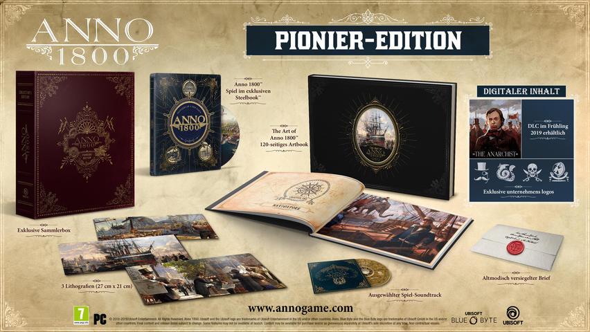 Anno 1800 Pionier Edition PC