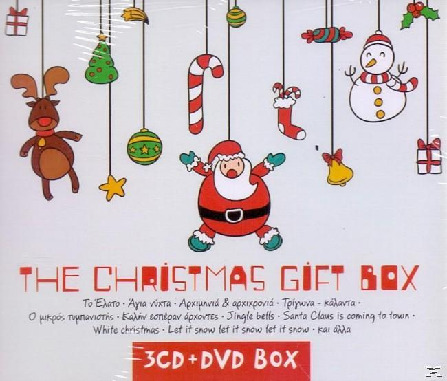 THE CHRISTMAS GIFT BOX (3CD+DVD)