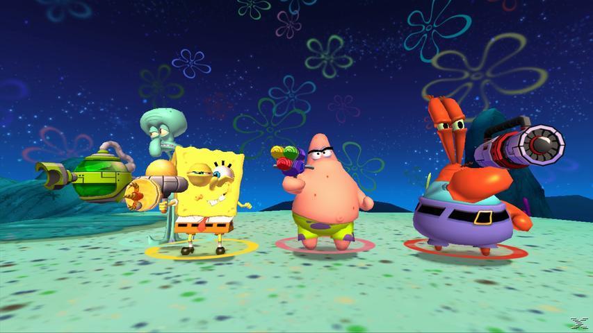 Spongebob Schwammkopf: Planktons fiese Robo-Rache - Nintendo Wii