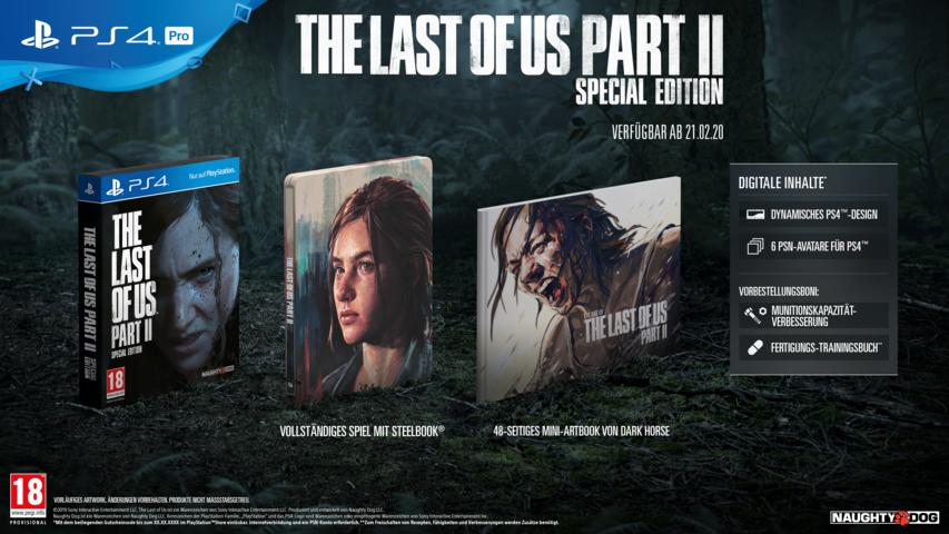The Last of Us Part II Special Edition für PlayStation 4