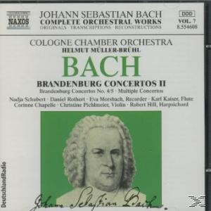 Bach: Brandenburg Concertos Ii