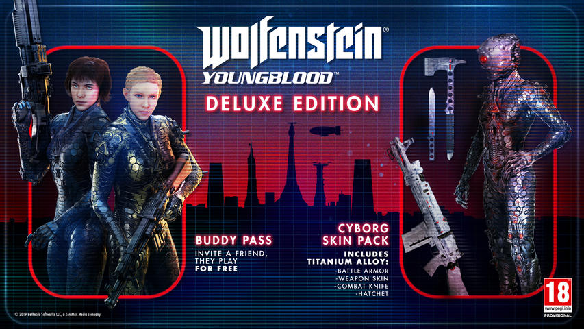 Wolfenstein: Youngblood Deluxe Edition (PlayStation 4)