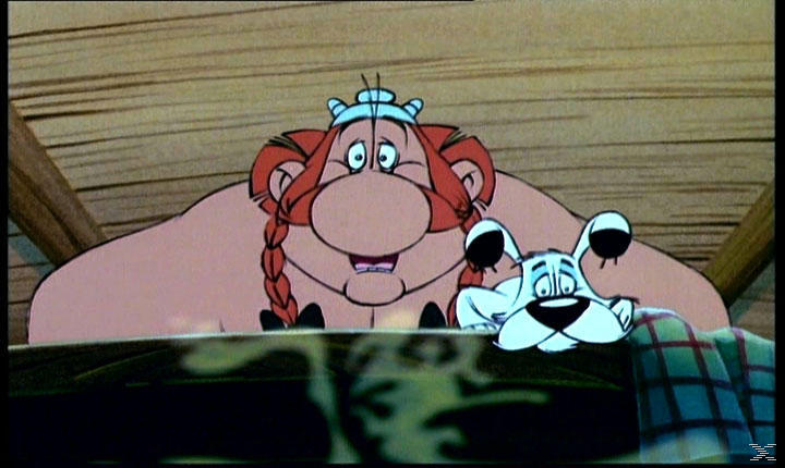 Asterix bei den Briten - (DVD)