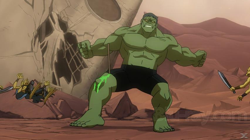 Planet Hulk - (DVD)