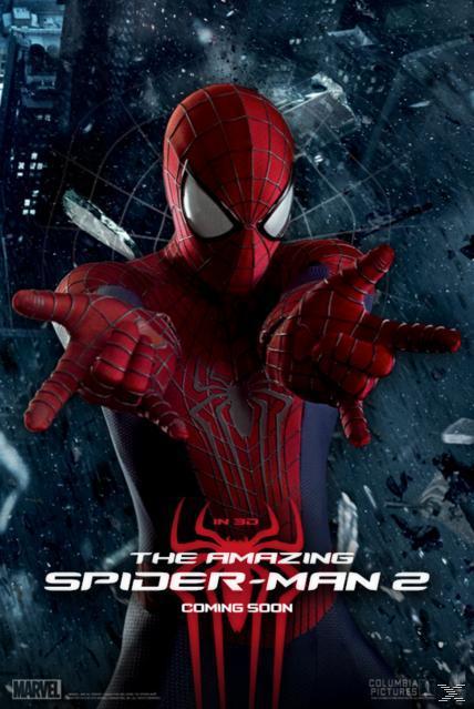 AMAZING SPIDER-MAN 2 3D [&2D BLU RAY]