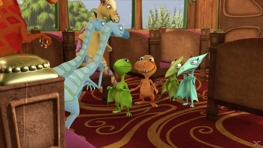 Dino-Zug - Die Dinos in der großen Stadt - (DVD)