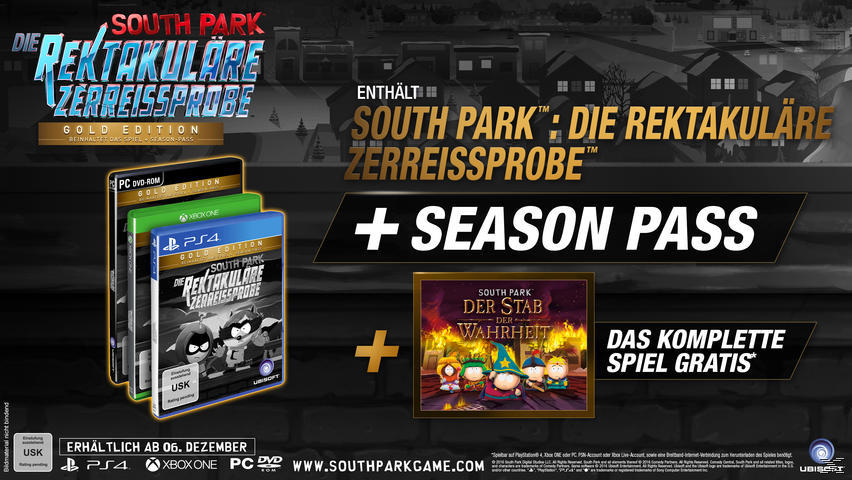 South Park - Die rektakuläre Zerreißprobe (Gold Edition) - PlayStation 4