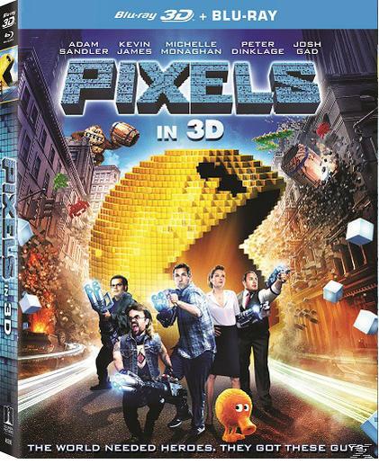 PIXELS 3D[&2D BLU RAY]