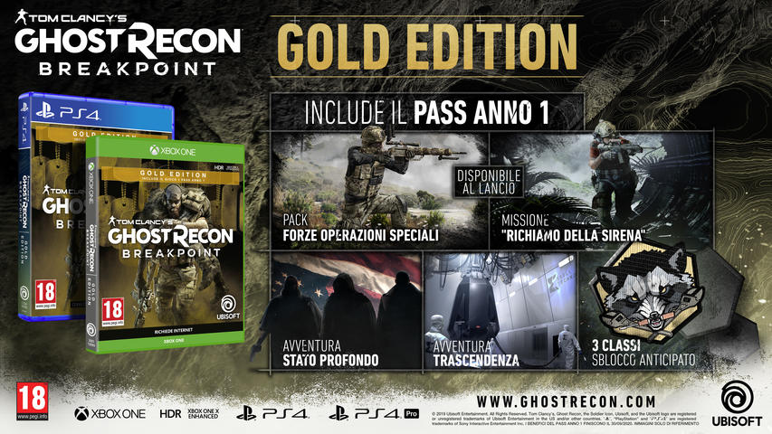 Tom Clancy's Ghost Recon Breakpoint Gold Edition für PlayStation 4