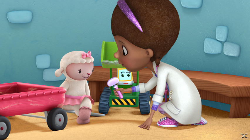 Doc McStuffins, Spielzeugärztin Volume 1: Freundschaft ist die beste Medizin - (DVD)
