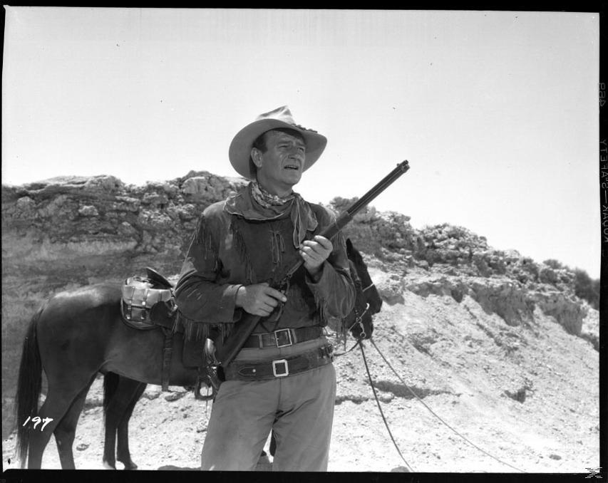 Rio Lobo, True Grit - Der Marshal, Man nennt mich Hondo [DVD]