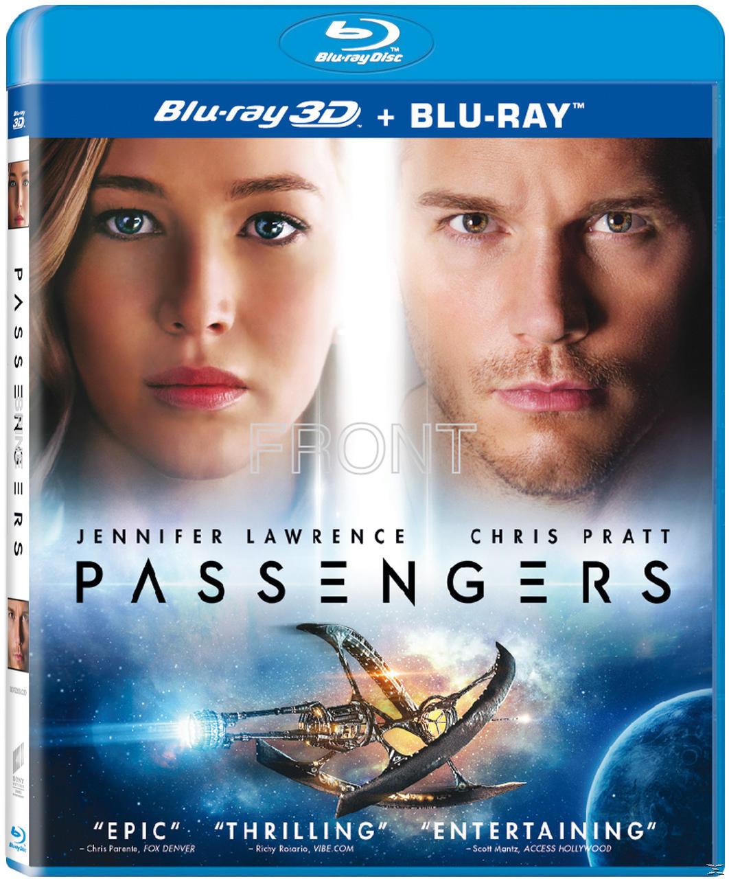 PASSENGERS 3D [&2D BLU RAY]