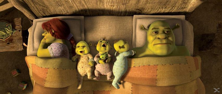 Shrek 1-4 [DVD]