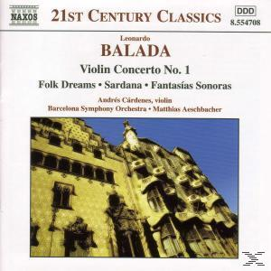 Balada: Violin Concerto No. 1; Folk Dreams; Sardana; Fantasi