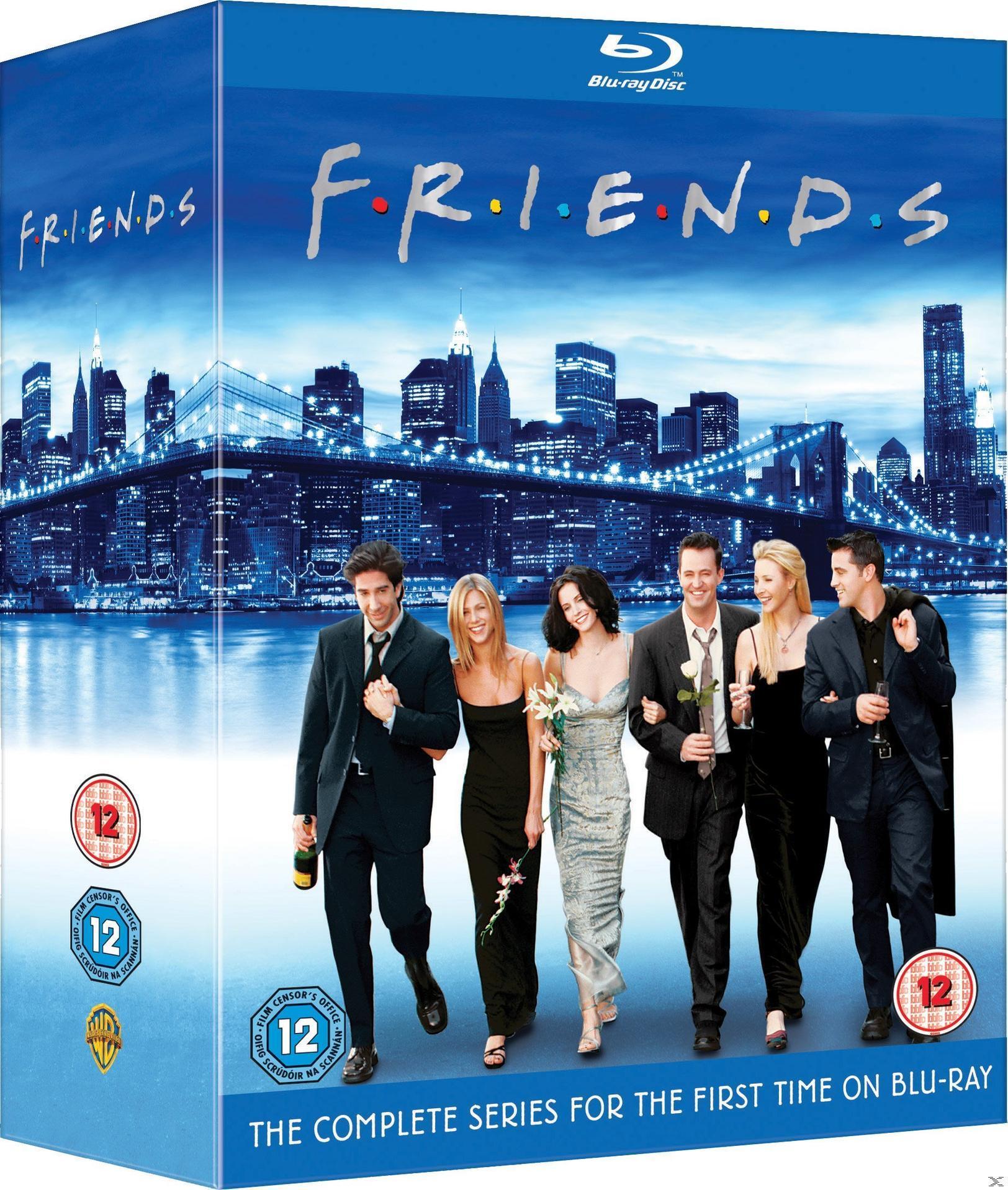 Friends: Series 1-10 Bluray Box