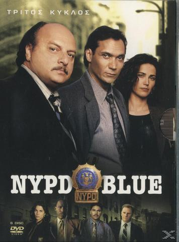 Nypd Blue - Season 3 (6 Dvds) Dvd-Box
