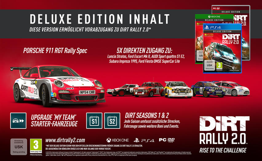 DiRT Rally 2.0 Day Deluxe Edition PC