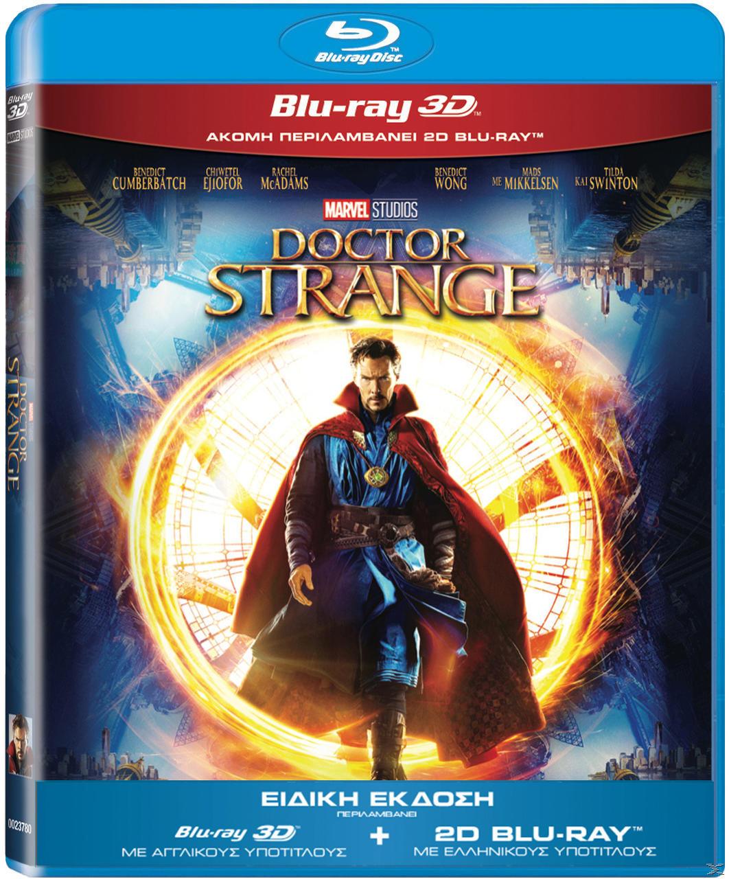 DOCTOR STRANGE 3D [&2D BLU RAY]