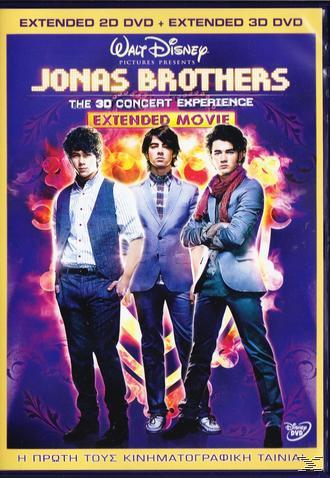 Jonas Brothers - The 3d Concert Experience - Extended Movie (2 Dvds)