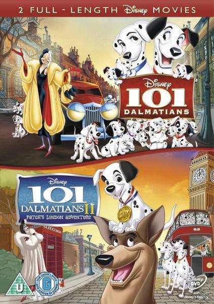 101 σκυλια της δαλματιας &; τα 101 σκυλια