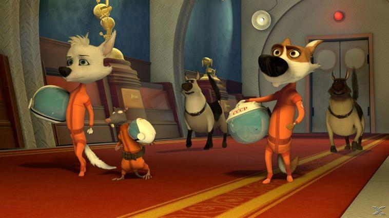 Space Dogs - (3D Blu-ray)