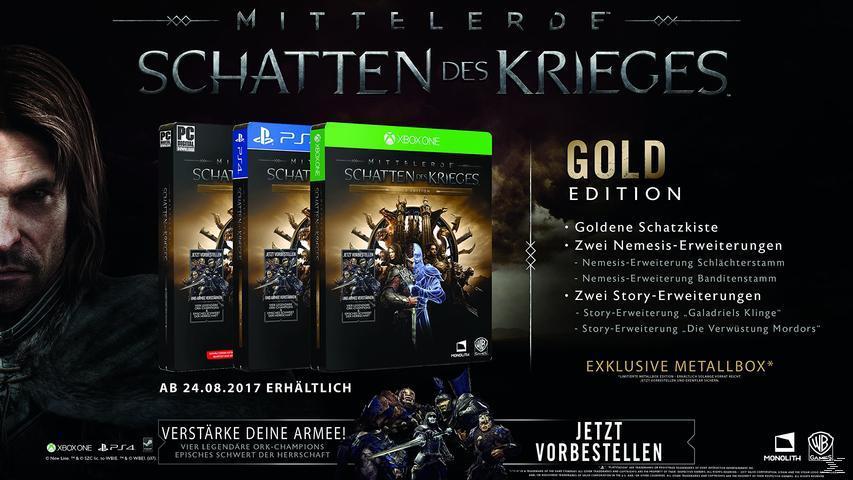 Mittelerde: Schatten des Krieges (Gold Edition) - PC