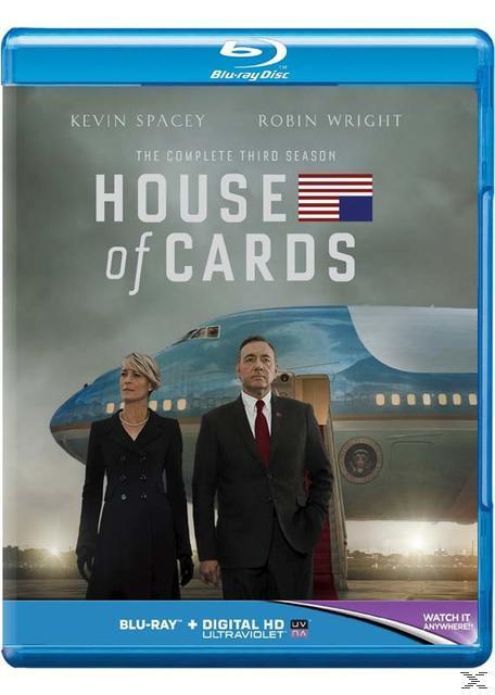 HOUSE OF CARDS SEASON 3 (BLU RAY)