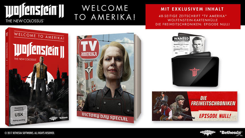 Wolfenstein II: Welcome to Amerika [PlayStation 4]