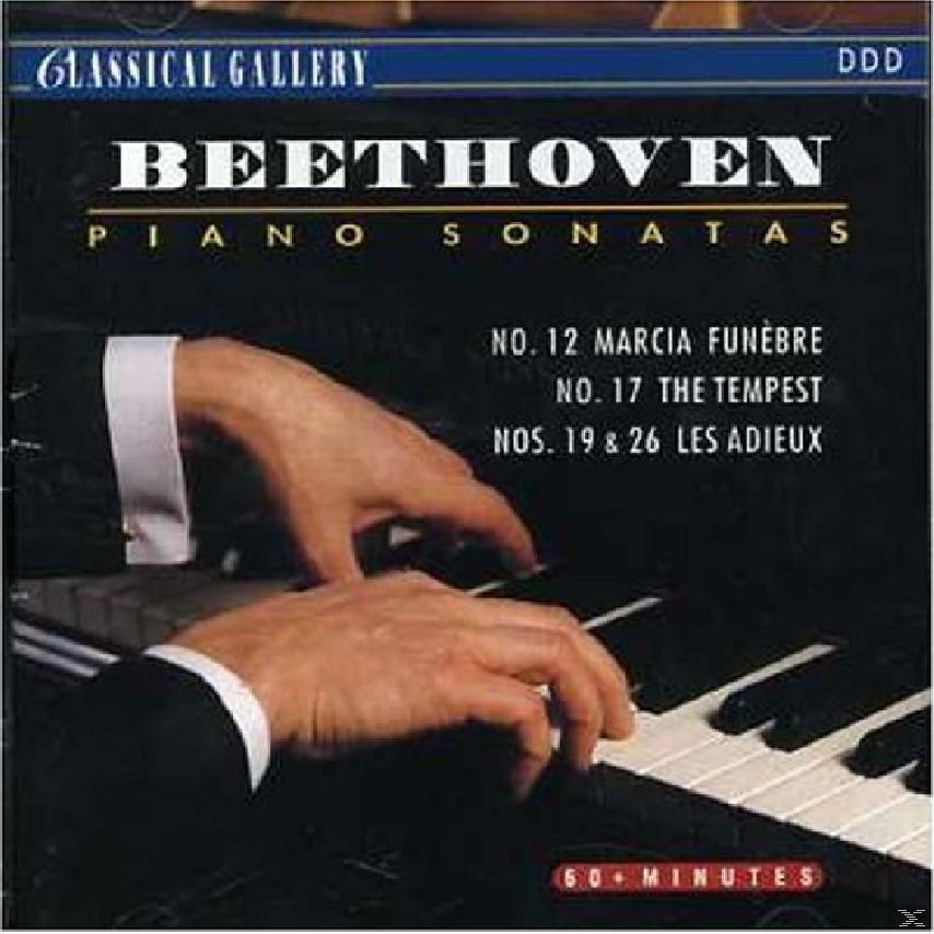 PIANO SONATAS NOS 12,17,19&26