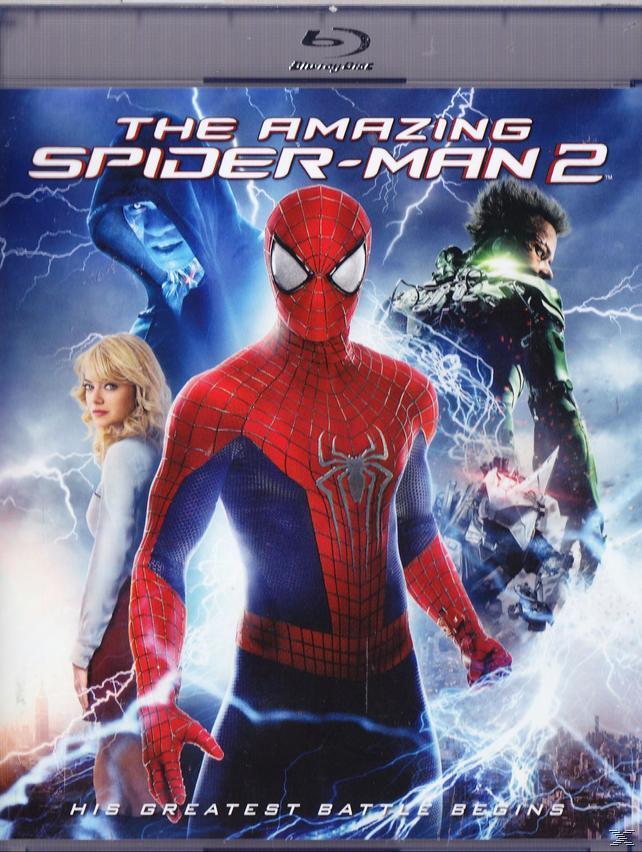 AMAZING SPIDER-MAN 2 [BLU RAY]