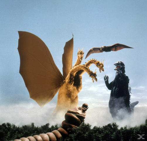 FRANKENSTEINS MONSTER IM KAMPF GEGEN GHIDORAH - (Blu-ray)
