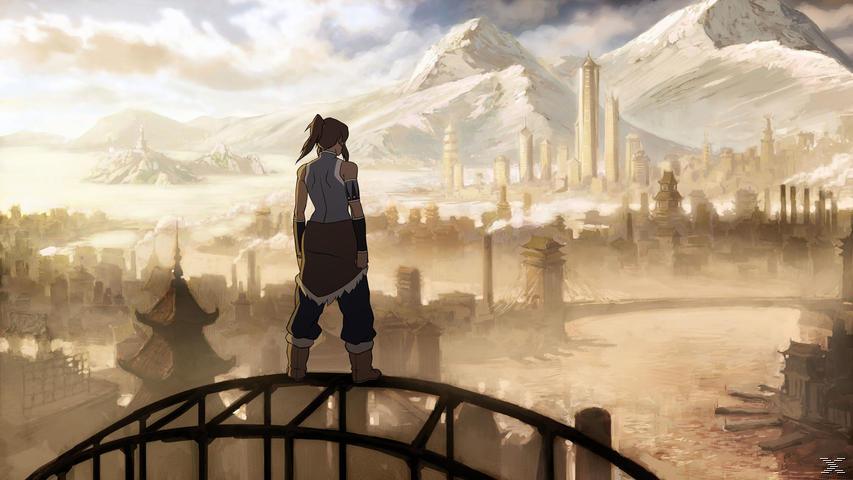 Die Legende von Korra - Buch 1: Luft, Vol. 1 - (DVD)