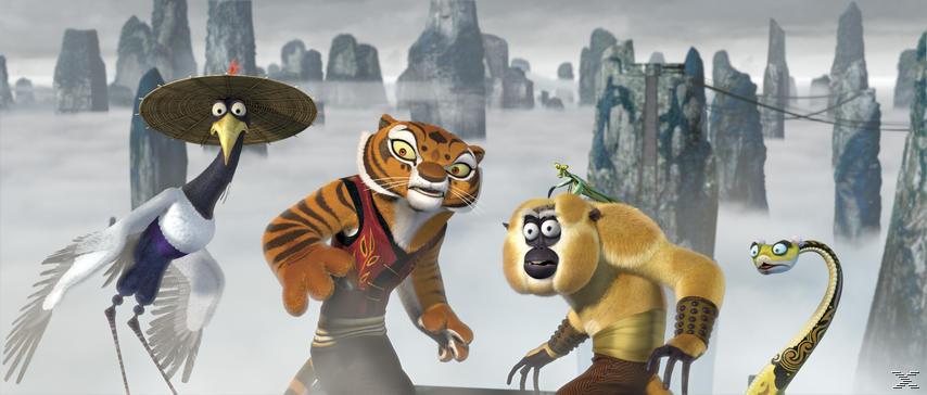 Kung Fu Panda 1-3 [DVD]
